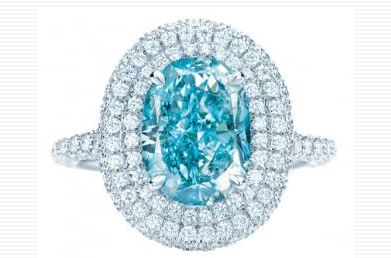 Tiffany S Presents 10 Million Vivid Blue Diamond Ring As
